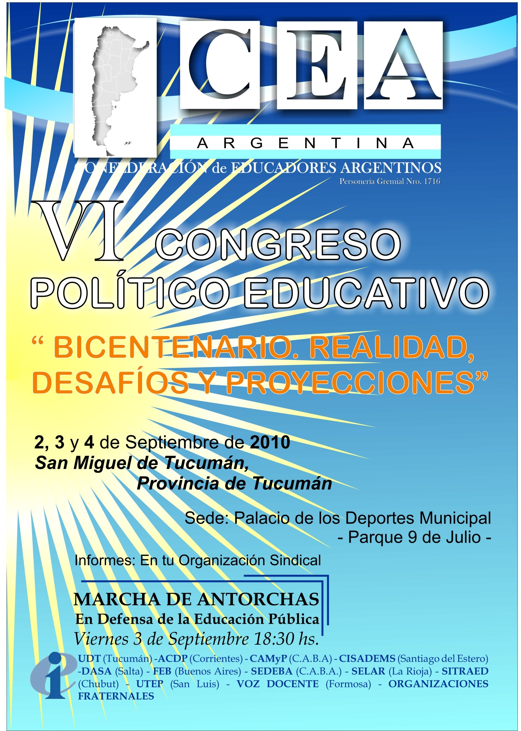 6- CARTEL VI CONGRESO