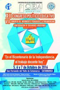 AFICHE XII CONGRESO 2016